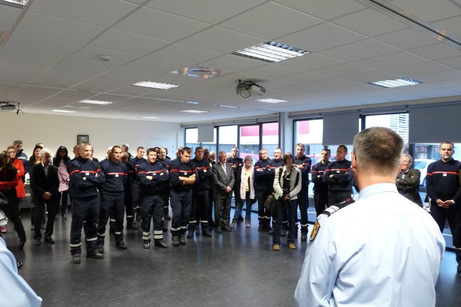 Pot de départ du colonel Florian Souyris