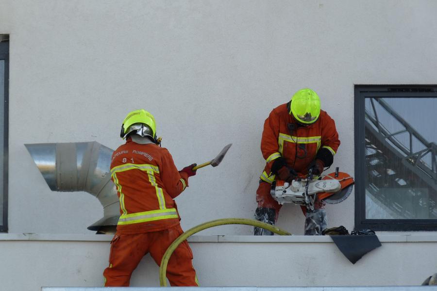 Incendie à la maison de la santé de Montredon-Labessonié