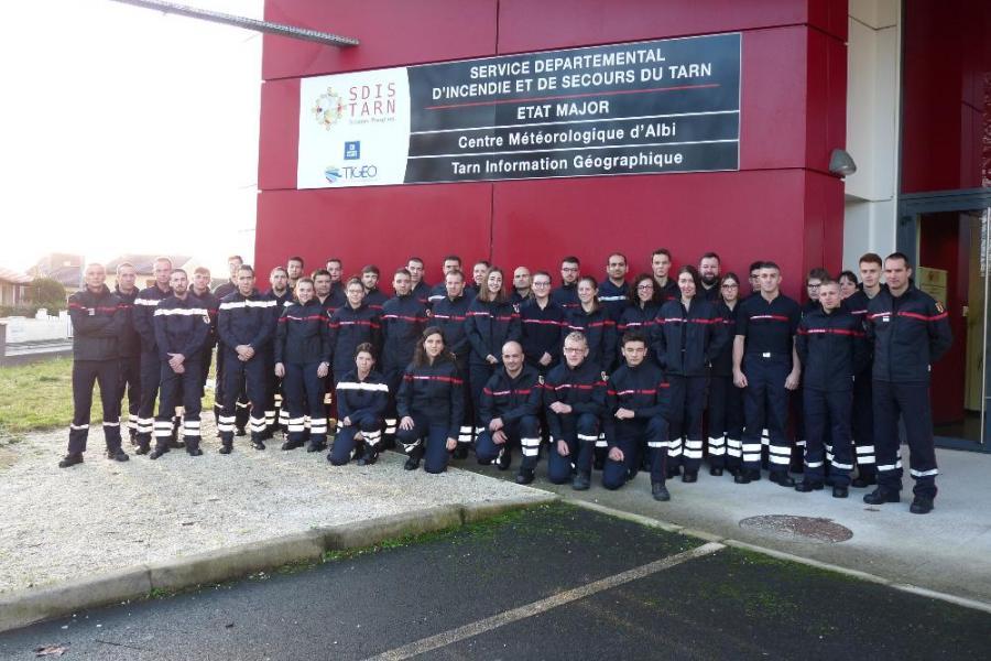 42 nouvelles recrues au SDIS du Tarn
