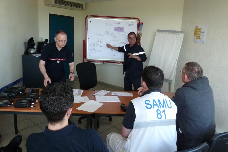 Journée de formation commune SAMU-SDIS