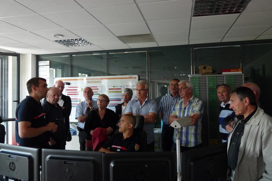 Visite de l'Etat-Major par des élus Tarnais