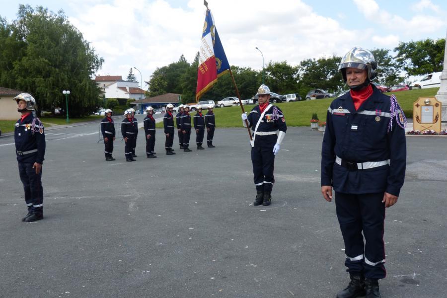 Journée nationale des sapeurs-pompiers célébrée à Lacrouzette