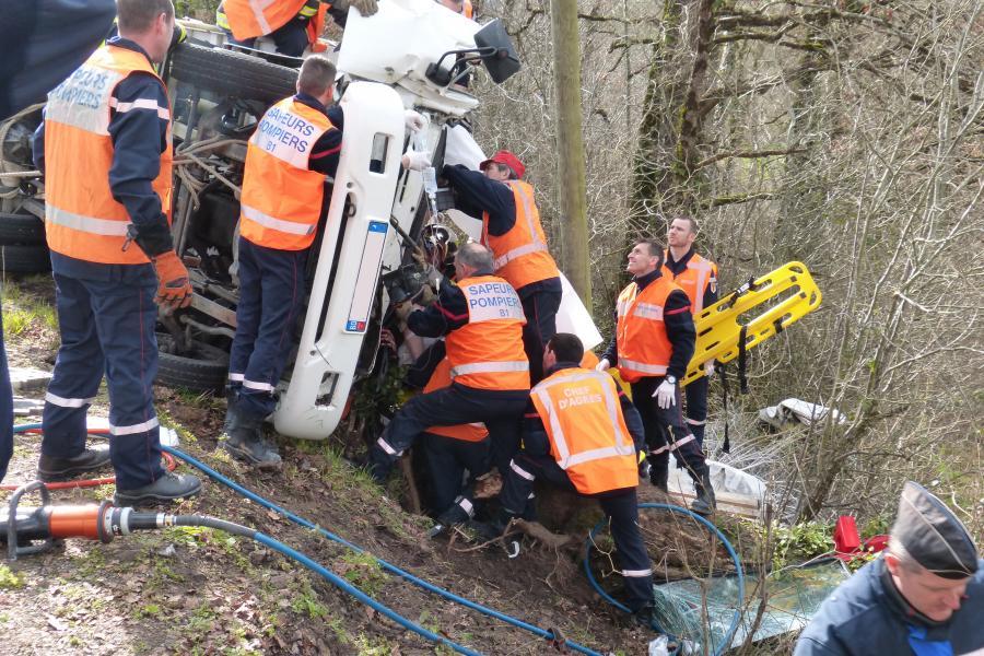 Accident de la circulation sur la commune du Ségur