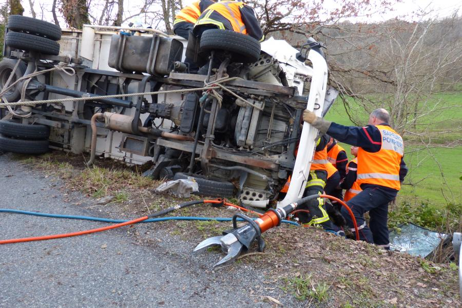 Accident de la circulation sur la commune du Ségur