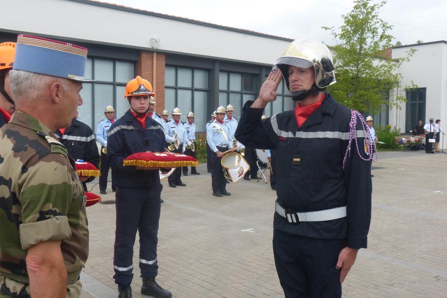Journée Nationale des Sapeurs-Pompiers à Saint-Juéry