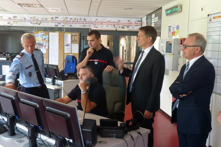 Visite du nouveau préfet du Tarn