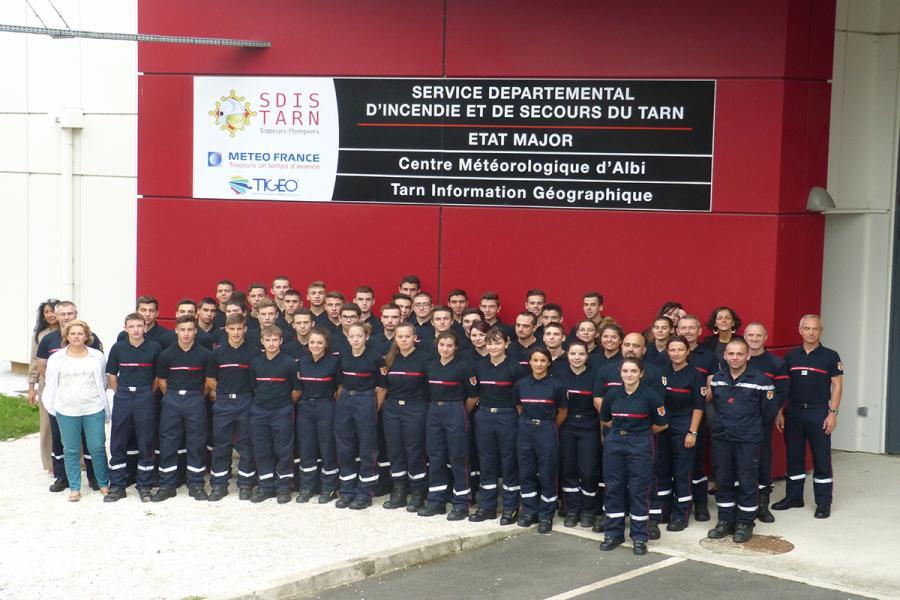 Journée d'accueil des sapeurs-pompiers volontaires : 47 nouveaux volontaires