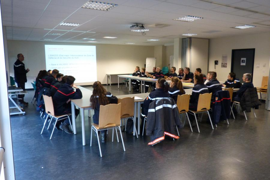 Journée d'accueil des sapeurs-pompiers volontaires: 24 nouveaux volontaires