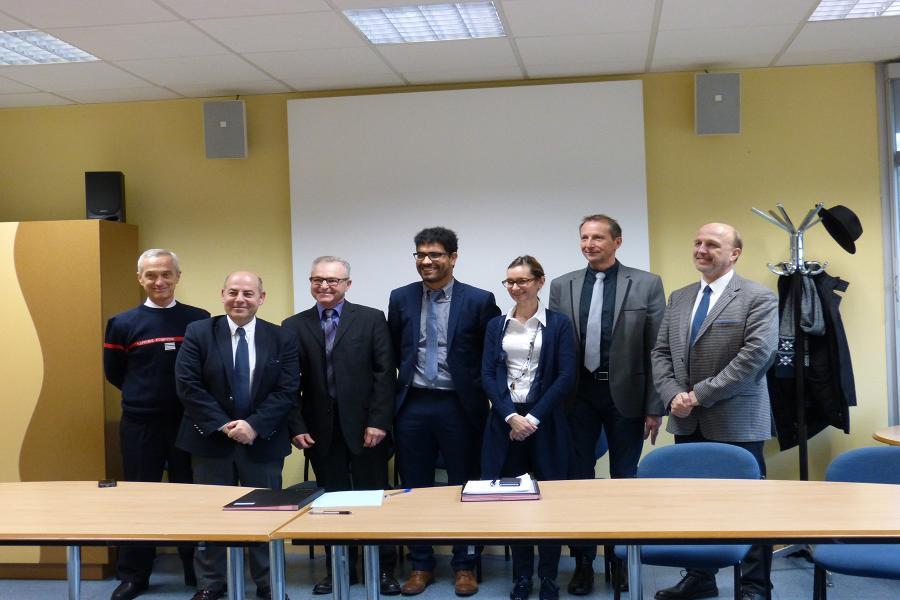 Signature de conventions entre le SDIS et les trois centres hospitaliers du Tarn