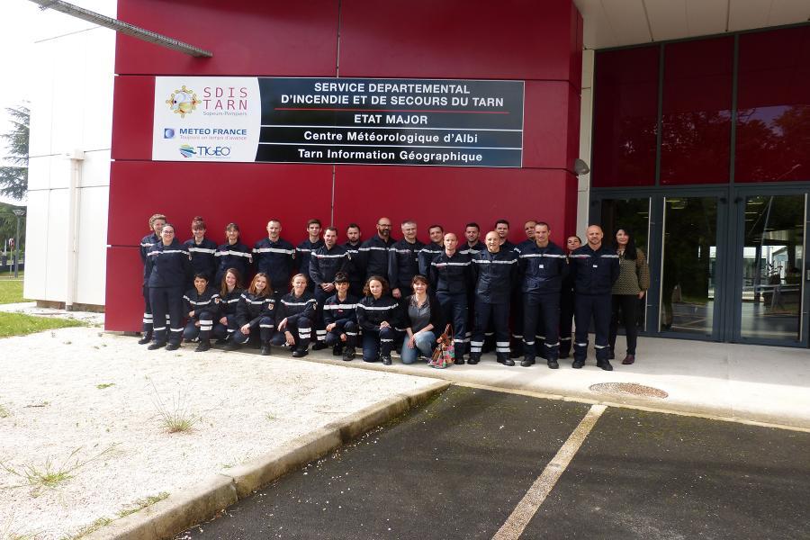 Journée d'accueil des sapeurs-pompiers volontaires : 25 nouveaux volontaires