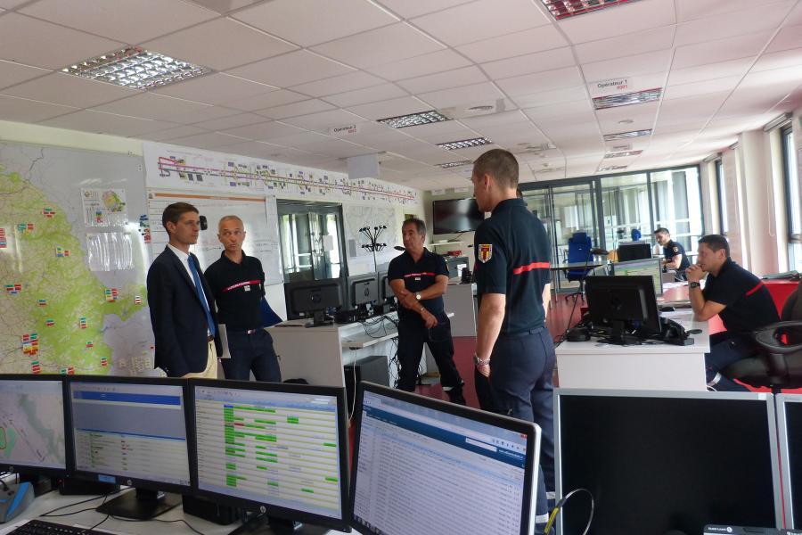 Visite du nouveau directeur de cabinet de la préfecture du Tarn