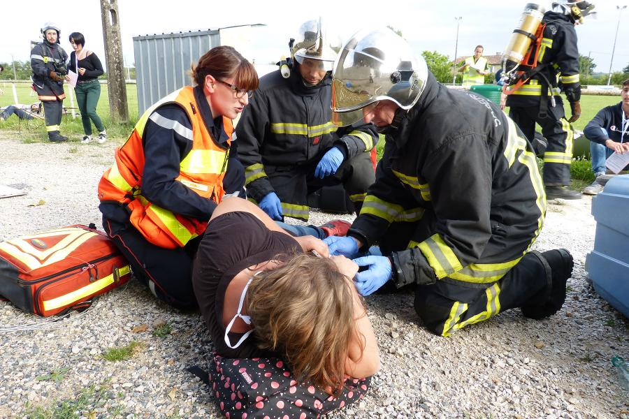 Exercice Nombreuses Victimes (NOVI) inter-services