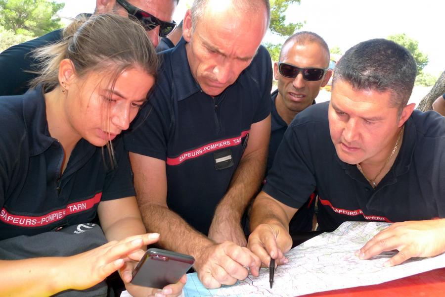 Retour de la colonne de renfort engagée dimanche dans l'Aude