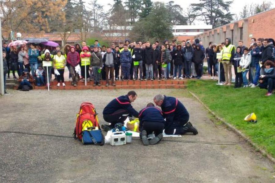 Journée de prévention au lycée Fonlabour d'Albi