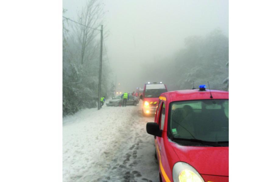 Accident de circulation sur la commune de Burlats