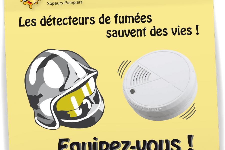 Equipez-vous en Détecteurs Autonomes Avertisseurs de Fumées