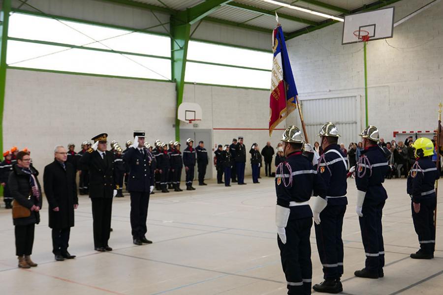 Sainte-Barbe du Groupement Nord et passation de commandement à Valence d'Albigeois