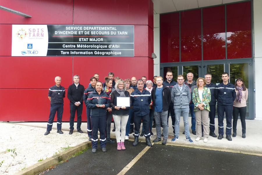 """Le SDIS remporte le """"Trophée pour la vie"""""""